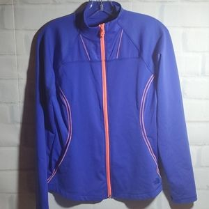 Womens Medium The North Face zip front top